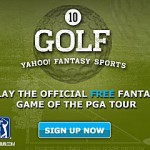 Yahoo Fantasy Golf Week 1