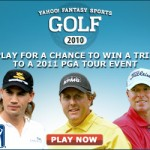 Yahoo Fantasy Golf Update