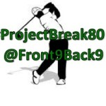 #ProjectBreak80:  Analyzing My Golf Game