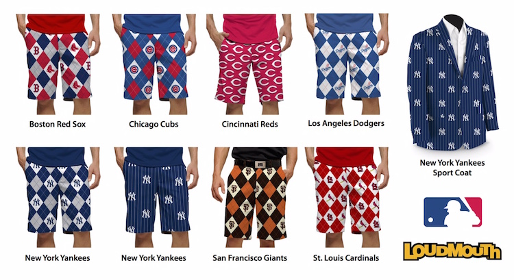 Loudmouth MLB collection