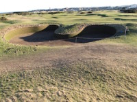 Hell Bunker Rebuilt for 2015 Open Championship