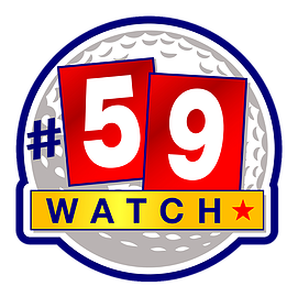 "59Watch TV is a new golf competition pegging amateur and pro golfers in a race to the elusive ""59."""