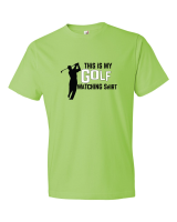 Golf Tee Shirts From The Golf Nut Golf Shop